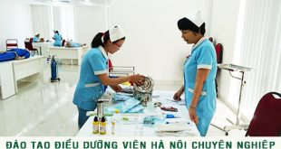 Thông tin tuyển sinh Cao đẳng Điều dưỡng Hà Nội năm 2017