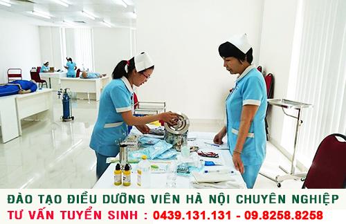 Đào tạo Điều dưỡng viên Hà Nội chuyên nghiệp
