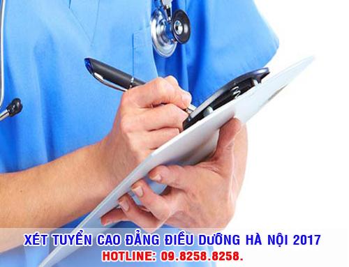 Cao đẳng Điều dưỡng Hà Nội thông báo tuyển sinh năm 2017