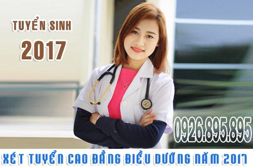 Hồ sơ xét tuyển Cao đẳng Điều dưỡng