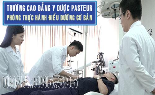 Trường Cao đẳng Y Dược Pasteur phát triển cùng ngành Điều dưỡng