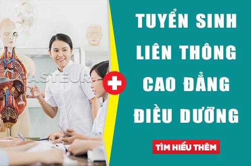 Địa chỉ đào tạo liên thông Cao đẳng Điều dưỡng tại Hà Nội
