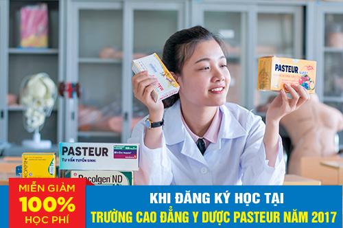 Miễn 100% học phí tại Trường Cao đẳng Y Dược Pasteur