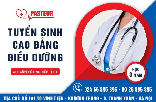 Địa chỉ nộp hồ sơ xét tuyển Cao đẳng Điều dưỡng năm 2017 tại Hà Nội