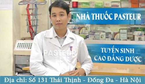 Tuyển sinh Cao đẳng Dược năm 2017 tại 131 Thái Thịnh - Đống Đa