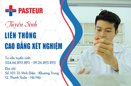 Trường Cao đẳng Y Dược Pasteur là địa chỉ đào tạo Liên thông Cao đẳng Xét nghiệm uy tín