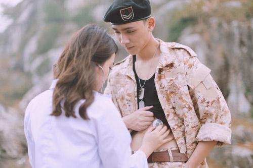 Chuyện tình đẹp như phim hàn của nữ điều dưỡng và chàng quân nhân