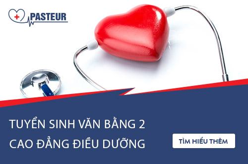 Trường Cao đẳng Y Dược Pasteur tuyển sinh Văn bằng 2 Cao đẳng Điều dưỡng Cần Thơ