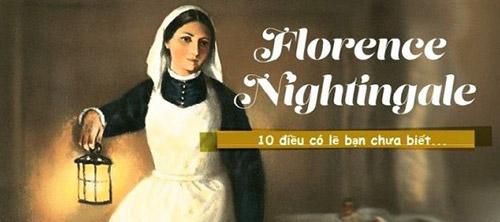 """Danh hiệu """"Nữ công tước với cây đèn"""" được đặt riêng cho Florence"""