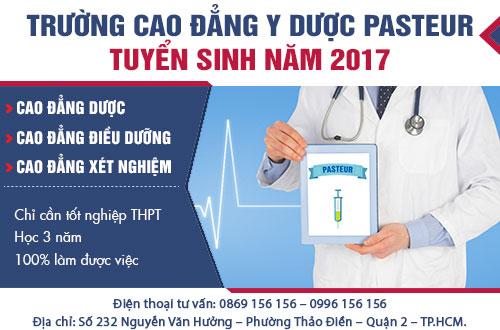 Thông tin tuyển sinh Cao đẳng Xét nghiệm TPHCM năm 2017