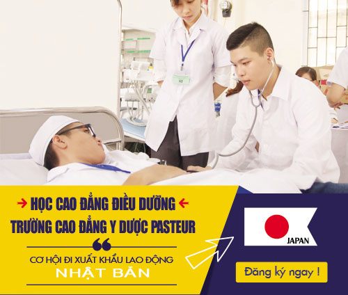 Cơ hội đi XKLĐ Nhật Bản khi học Cao đẳng Điều dưỡng