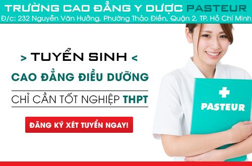 Xét tuyển Cao đẳng Điều dưỡng điều kiện tốt nghiệp THPT
