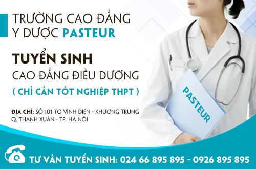 Địa chỉ tuyển sinh Cao đẳng Điều dưỡng học tại Hà Nội