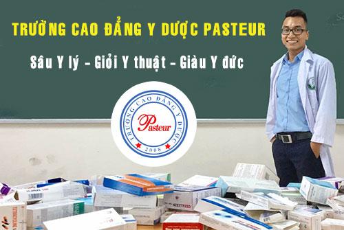 Trường Cao đẳng Y Dược Pasteur tuyển sinh Cao đẳng Y Dược chuyên nghiệp