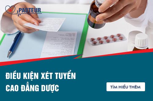 Điều kiện xét tuyển Cao đẳng Dược