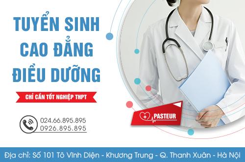 Địa chỉ tuyển sinh Cao đẳng Điều dưỡng năm 2018