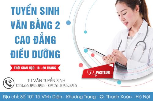 Địa chỉ tuyển sinh văn bằng 2 Cao đẳng Điều dưỡng tại Hà Nội