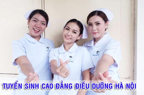 Tuyển sinh Cao đẳng Điều dưỡng Hà Nội
