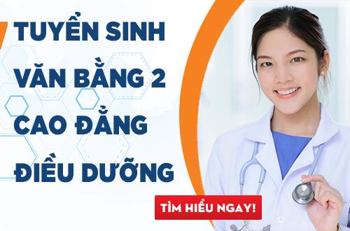 Tuyển sinh văn bằng 2 Cao đẳng Điều dưỡng năm 2018 tại Hà Nội