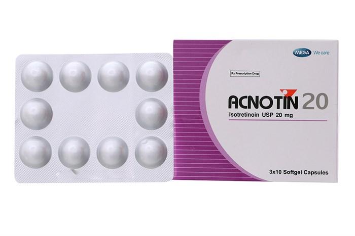 Kinh nghiệm điều trị mụn trứng cá từ thuốc Acnotin