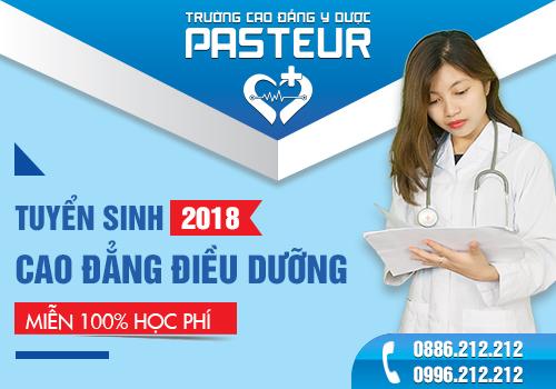 Đào tạo Cao đẳng Điều dưỡng tại Trường Cao đẳng Y Dược Pasteur