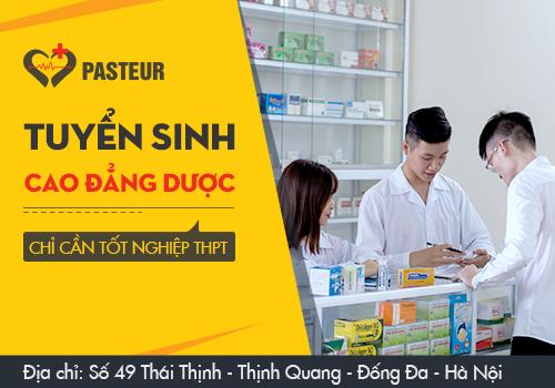 Trường Cao đẳng Y Dược Pasteur tuyển sinh Cao đẳng Dược chính quy trên phạm vi cả nước