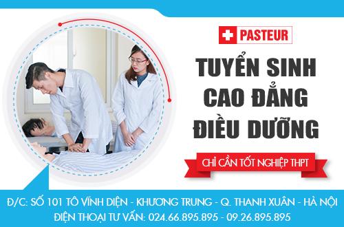 Địa chỉ tuyển sinh Cao đẳng Điều dưỡng năm 2018 tại Hà Nội