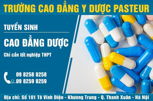 Địa chỉ đào tạo Cao đẳng Dược tốt nhất tại Hà Nội