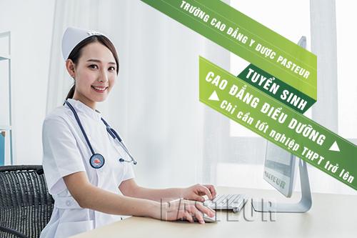 Cao đẳng Điều dưỡng chỉ cần tốt nghiệp THPT trở lên