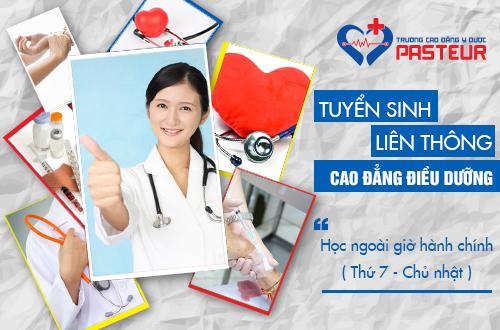 Đào tạo Liên thông Cao đẳng Điều dưỡng chuyên nghiệp
