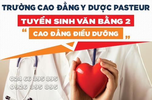 Đào tạo Văn bằng 2 Cao đẳng Điều dưỡng chuyên nghiệp