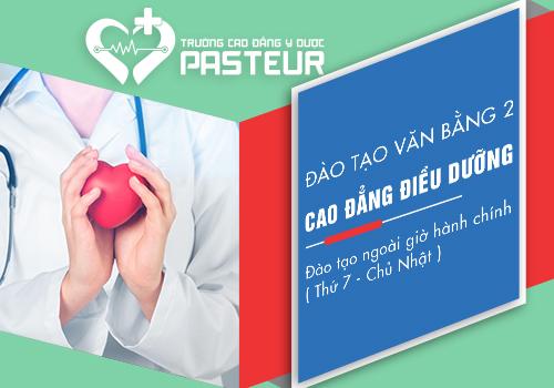 Trường Cao đẳng Y Dược Pasteur đào tạo văn bằng 2 Cao đẳng Điều dưỡng uy tín