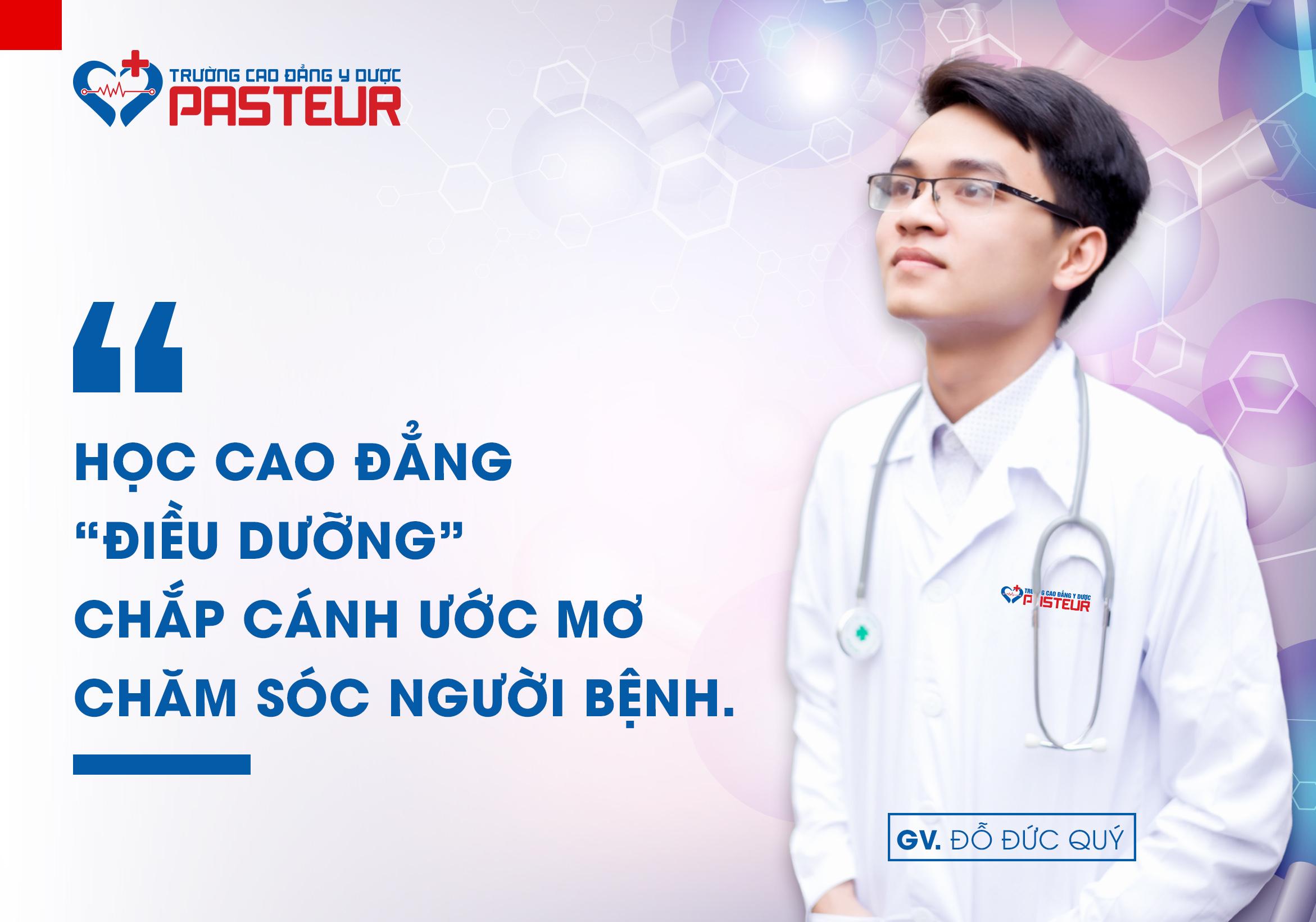 Học Cao đẳng Điều dưỡng chắp cánh ước mơ chăm sóc người bệnh