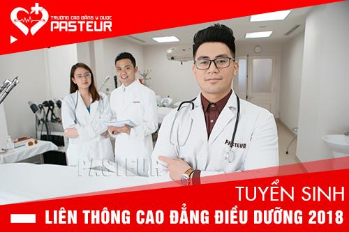 Trường Cao đẳng Y Dược Pasteur đào tạo liên thông Cao đẳng Điều dưỡng uy tín chất lượng