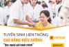 Đào tạo liên thông Cao đẳng điều dưỡng học ngoài giờ hành chính năm 2019