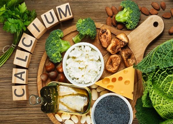 Những loại thực phẩm giàu canxi tốt cho sức khỏe