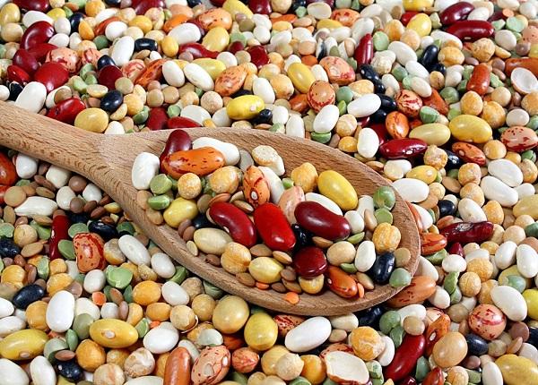 Các loại đậu cung cấp 300mg canxi trong một phần ăn