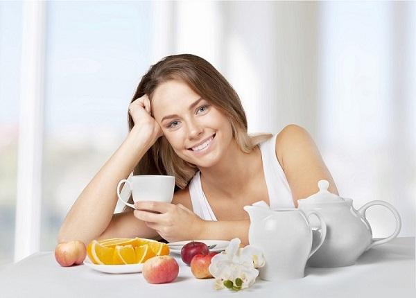 Một chế độ ăn khoa học, cân bằng sẽ giúp bạn cảm thấy tốt hơn