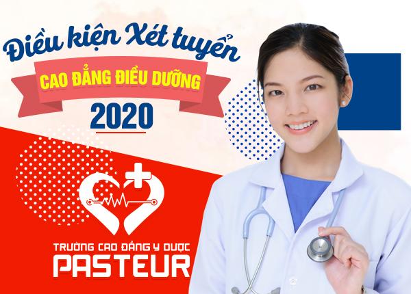 Điều kiện xét tuyển Cao đẳng Điều dưỡng năm 2020 là gì?