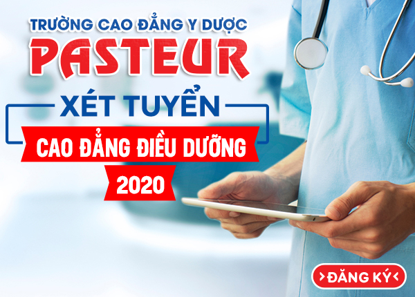 Xét tuyển Cao đẳng Điều dưỡng năm 2020 chỉ cần tốt nghiệp THPT