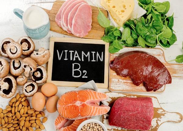 Một số thực phẩm cung cấp Vitamin B2 cho cơ thể