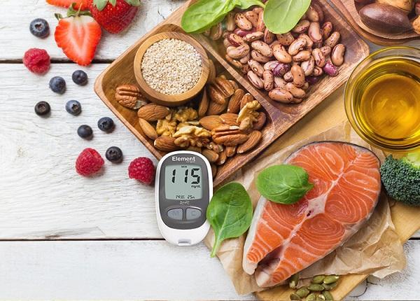 Đảm bảo chế độ ăn uống rất cần thiết cho người bị bệnh tiểu đường