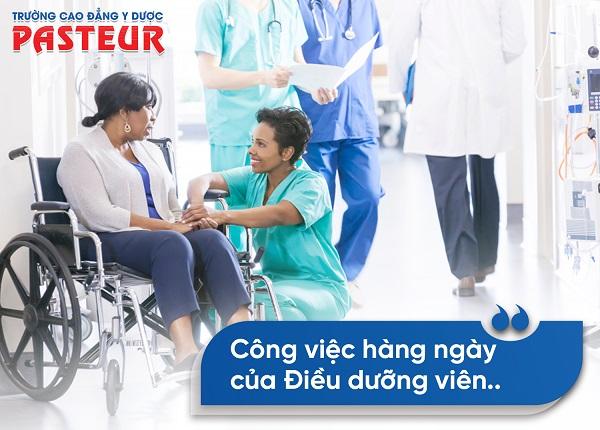 Điều dưỡng viên làm những công việc gì tại bệnh viện?