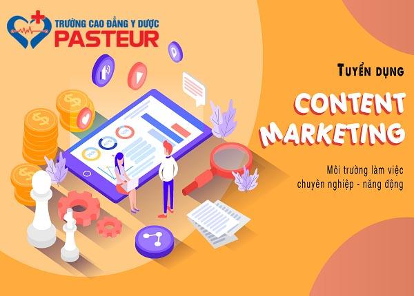 Trường Cao đẳng Y Dược Pasteur tuyển dụng Content Marketing