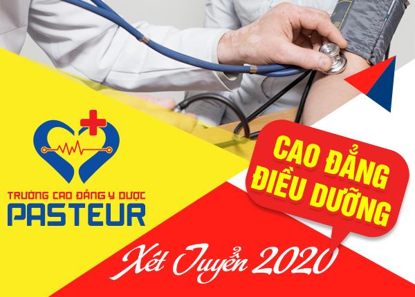 Tuyển sinh Cao đẳng Điều dưỡng năm 2020 hình thức xét tuyển