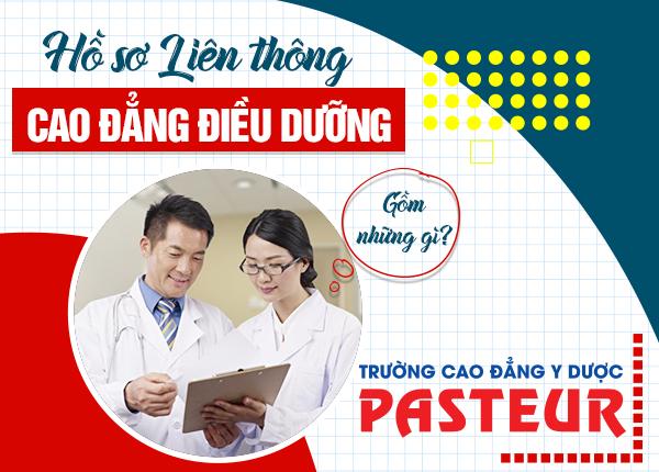 Hồ sơLiên thông Cao đẳng Điều dưỡng TPHCM 2021